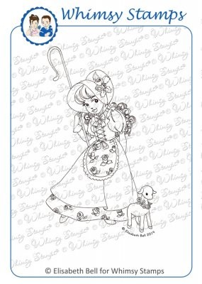 Whimsy stempels - Little Miss Mary - eb1073