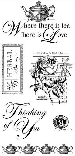 Stempel - graphic45 - botanical
