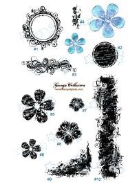 Stempelglede stempel - grunge collection