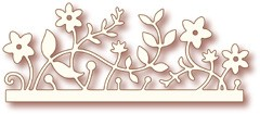 Wild Rose Studio`s Specialty die - Woodland border