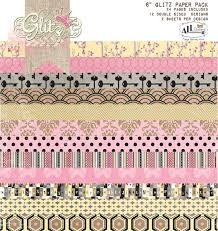 All Dolled Up Paper Pad Giltz Design