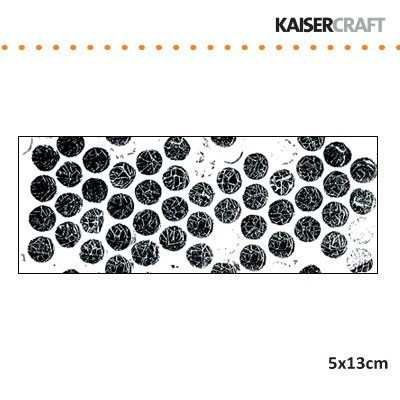 Stempel - kaisercraft - bubble wrap