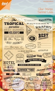 Joy! Crafts - Clear Stamps - tropical summer
