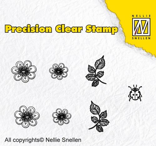 Precision clear stamps Nature kingcup
