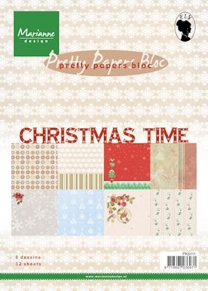 Pretty Papers Bloc - Christmas Time