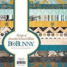 Paperpad - Bo Bunny - somewhere in time collection