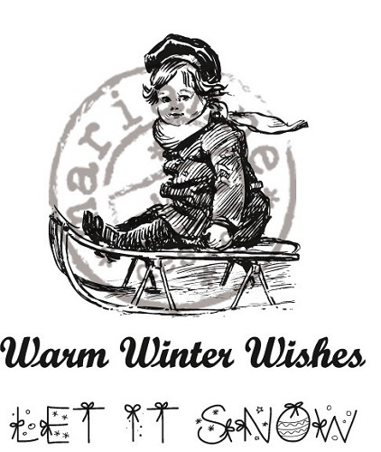 Stempel Warm Winter Wishes - Marianne Design