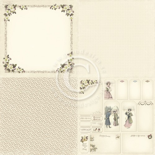 Pion Design kerst scrappapier - Days of Winter