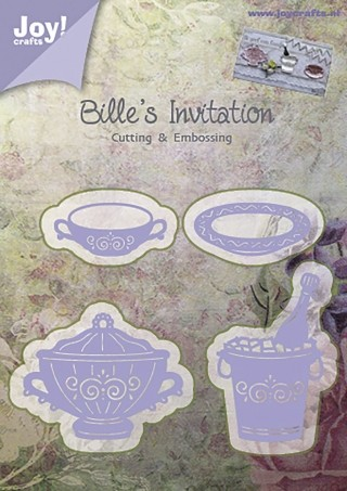 Bille`s Invitation - snijmal Joy!Crafts