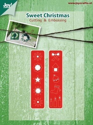 Joy!Crafts snijmallen -Advent kalender - embellishments mal