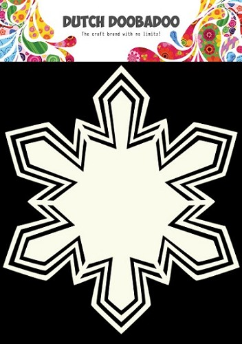 Dutch Doobadoo - Shape Art - Snowstar