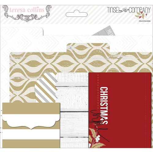 Tinsel & Company Cardstock File Folders & Cards