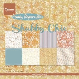 Pretty Shabby Chic Paperpad - Marianne Design