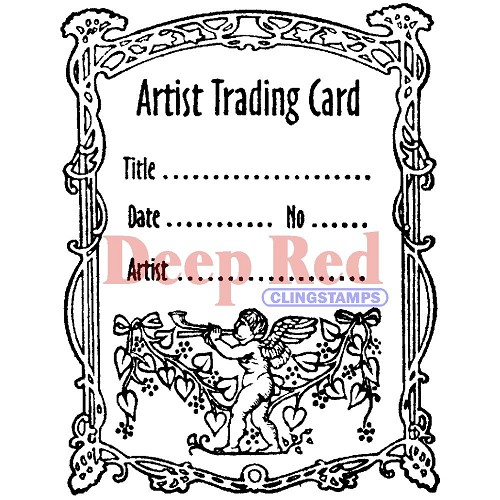 ATC stempel Angel