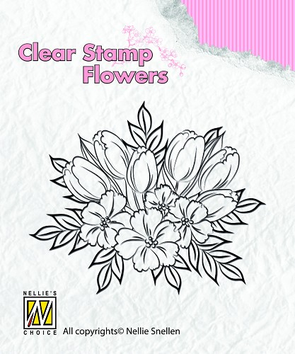 Clear stamps Flowers crocoses