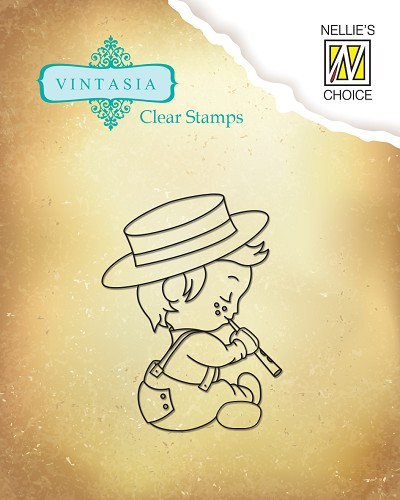Clear stamps Vintasia Lovely Harmony