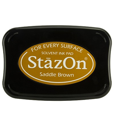 StaZon Ink - Saddle Brown