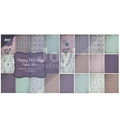 Joy Crafts Paper Pad 30.5 x 30.5cm Happy Holidays