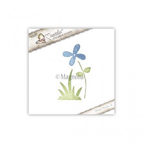 Magnolia stempel - forget me not