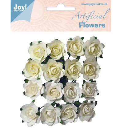 Joy Crafts - Artificial Flower - Flowers Wit/creme