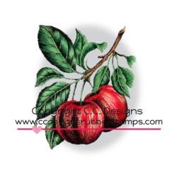 stempel - DoveArt Cling Stamp apple branch
