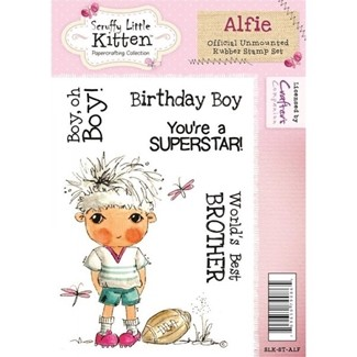 stempel - crafters companion - alfie