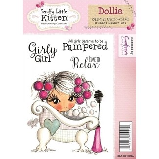 stempel - crafters companion - dollie