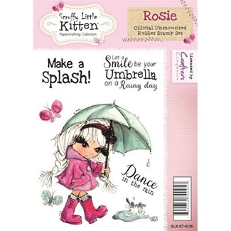 stempel - crafters companion - rosie