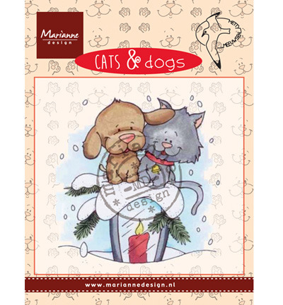 Marianne Design Cats & DogsCandle light