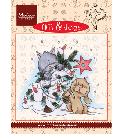 Marianne Design Cats & DogsTree decorating