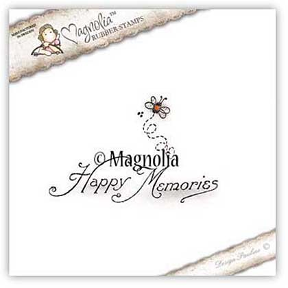 Magnolia stempel voorjaar 2016 - Happy Memories Kit
