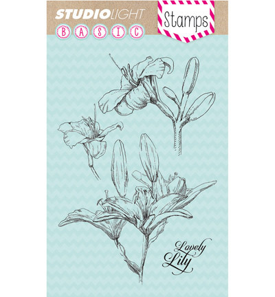 Studio Light - Stamps Basics - Lily nr.134