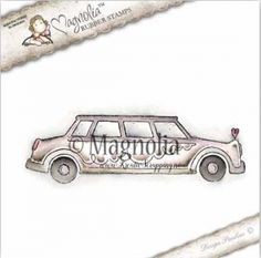 Magnolia stempels - we made it - limousine
