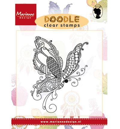 Marianne Design - Doodle - Doodle Butterfly