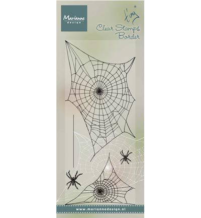 Marianne Design - Stempels-Tiny's border: Spider web