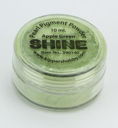 Pearl pigment powder -  - Shine - Apple Green