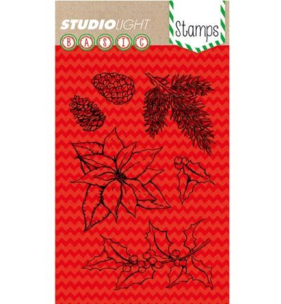Studio Light - Stamps Basics - Basic Christmas Stamp Nr. 152
