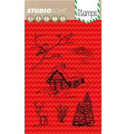 Studio Light - Stamps Basics - Basic Christmas Stamp Nr. 153