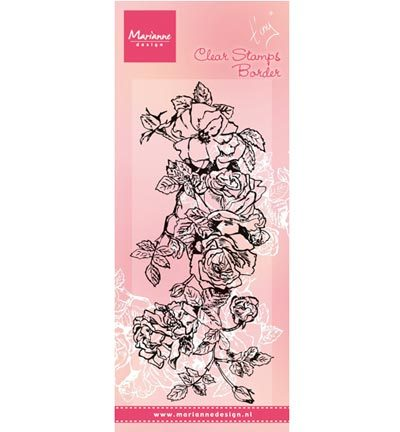 Marianne Design - Tiny`s - Tiny`s border: roses