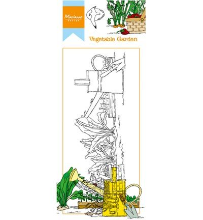 Marianne Design - Hetty`s - Hetty`s border: Vegetable garden