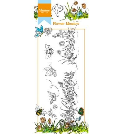 Marianne Design - Hetty`s - Hetty`s border: Flower meadow