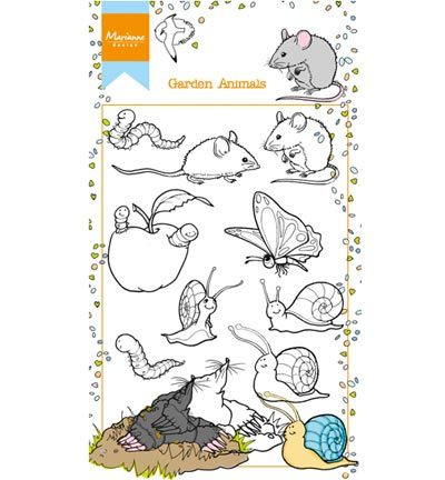 Marianne Design - Hetty`s - Hetty`s garden animals