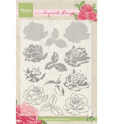 Marianne Design - Tiny`s - Tiny`s rose (layering)