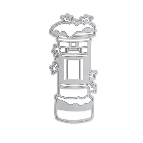 Tonic Studios Die rounded strip - Snowy postbox 1377E