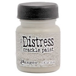 Distress Crackle Paint-old paper