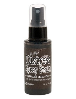 Distress Spray Stain - Ground espresso