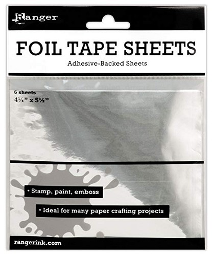 "Ranger ISF30010 Inkssentials Metal Foil Tape Sheets, 4.25"" x 5.5"""