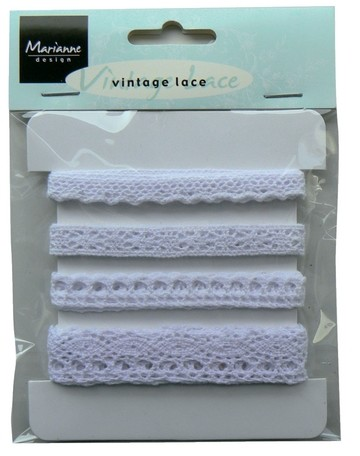 Vintage Lace - White (Marianne Design)