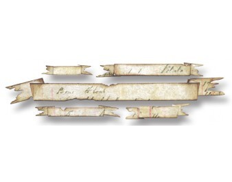 Tim Holtz Alterations - Tattered Banners