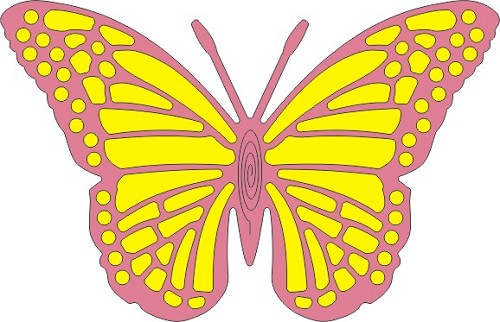 Exotic Butterfly Large 2 (Cheery Lynn Design)